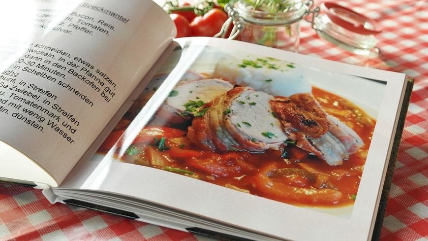 ספר בישול תרגום של ספרי בישול