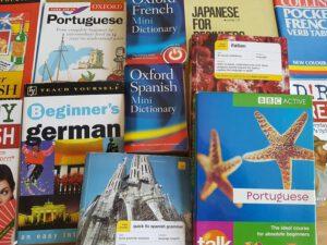 ספרים בשפות שונות