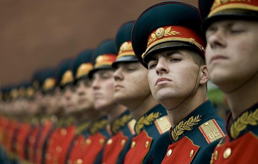 אנשי צבא רוסים